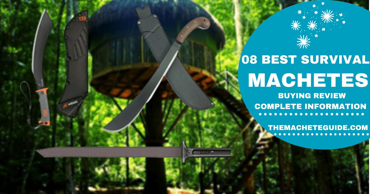 best survival machetes