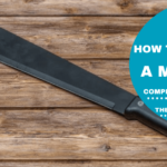 how to sharpen a machete